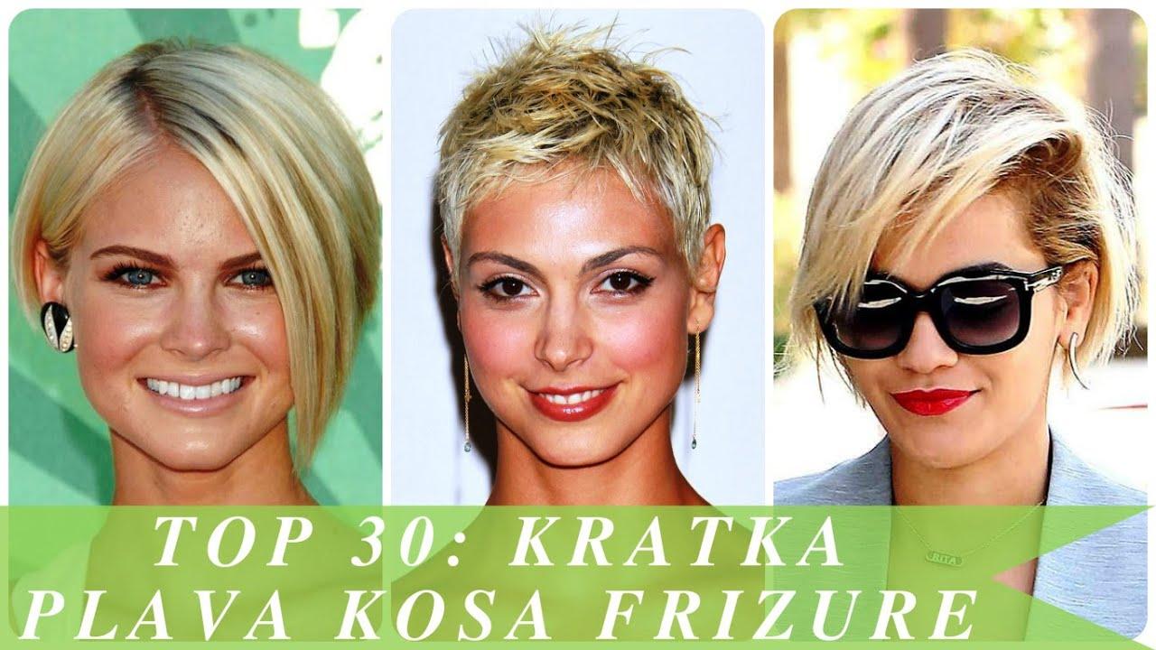 Top 30 Kratka Plava Kosa Frizure Youtube