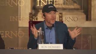 INFERNO FLORENCE PRESS CONFERENCE RON HOWARD