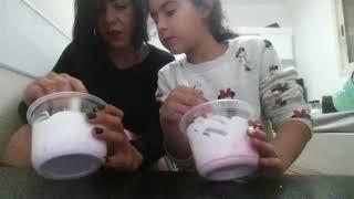 מכינה סליים עם אמא שלי😘