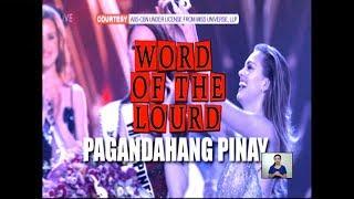 #WordOfTheLourd | PAGANDAHANG PINAY