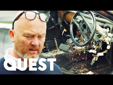 Mouse Infested Porsche 928 | Salvage Hunters: Classic Cars