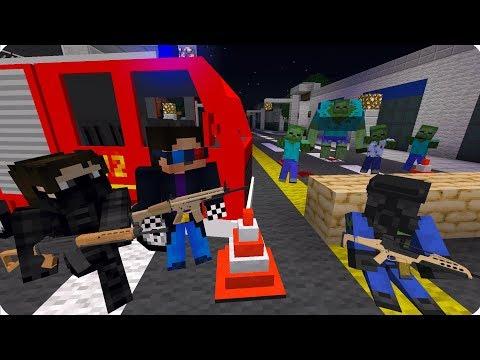 НАШЁЛ ВЫЖИВШИХ ДРУЗЕЙ! НОВАЯ БАЗА! ДЕНЬ 11. ЗОМБИ АПОКАЛИПСИС В МАЙНКРАФТ! - (Minecraft - Сериал)