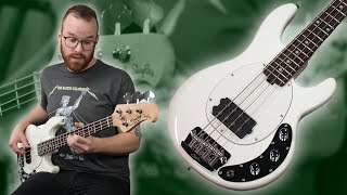 The Loud & Powerful Short Scale Stingray From Sterling By Music Man! [Demo]