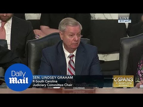 Senator Graham interrupts Barr hearing to issue warning to Trump