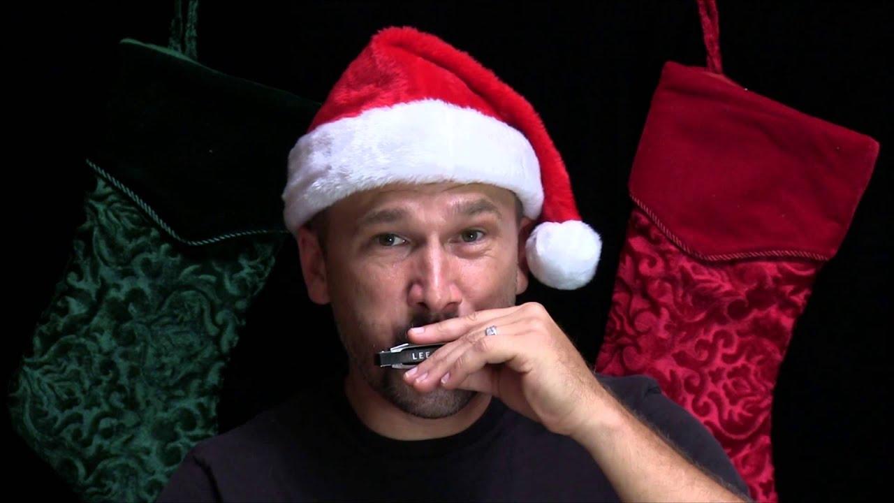Jingle Bells Harmonica Lesson - Super-Easy Christmas Songs on Harp - YouTube