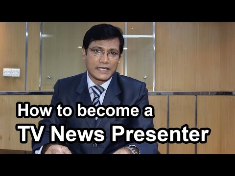 How to become a TV News Presenter (tutorial) Bangla