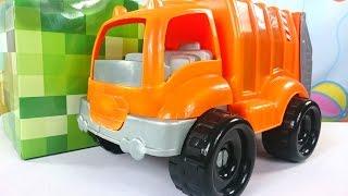 Волшебная Коробка. Видео для детей. Мультфильм про мусоровоз(Передача для детей