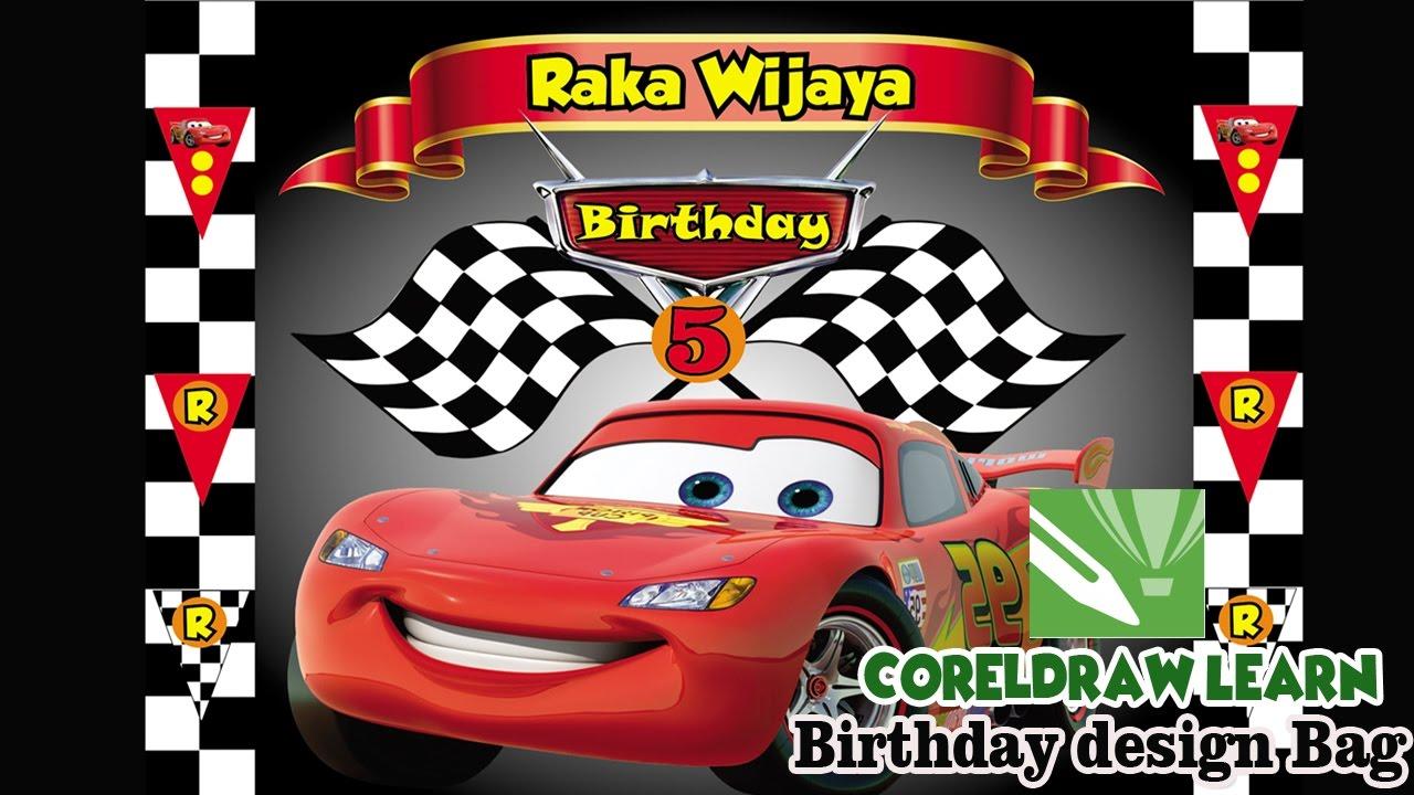 cars animation birthday design