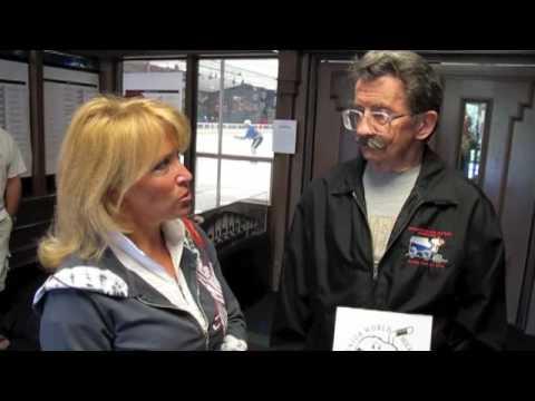 87-year-old ice hockey player, Mark Sertich - w/ R...