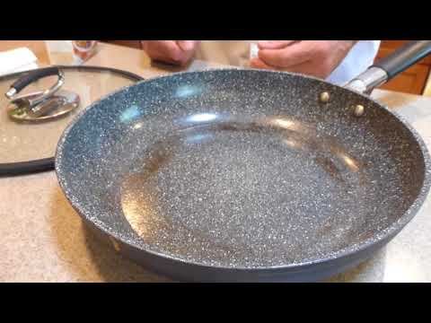 1/4 Revitalizing and Cleaning a Vesuvio Ceramic Frying Pan - Testing