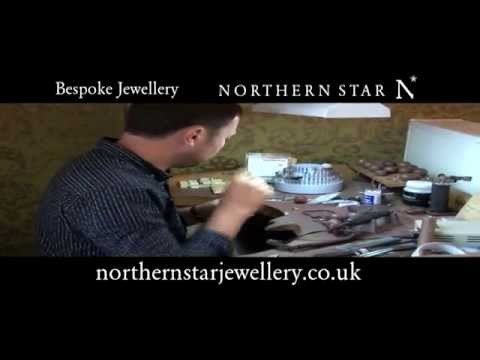 30 Seconds Setting Diamonds with Northern Star Bespoke Jewellers