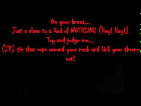 The Divine Infection By: Motionless in White (lyric video)