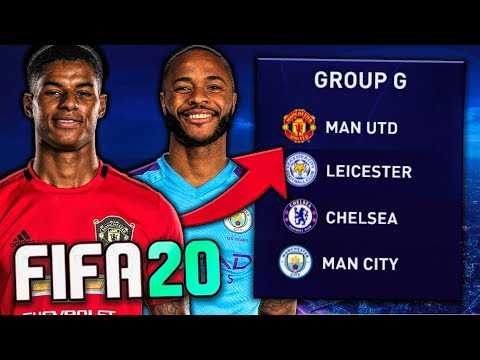 English Teams ONLY In Champions League On FIFA 20!