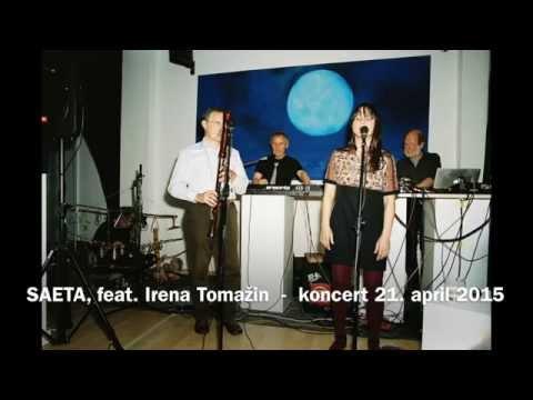 SAETA - koncert 21. april 2015, Bežigrajska galerija 2, Ljubljana