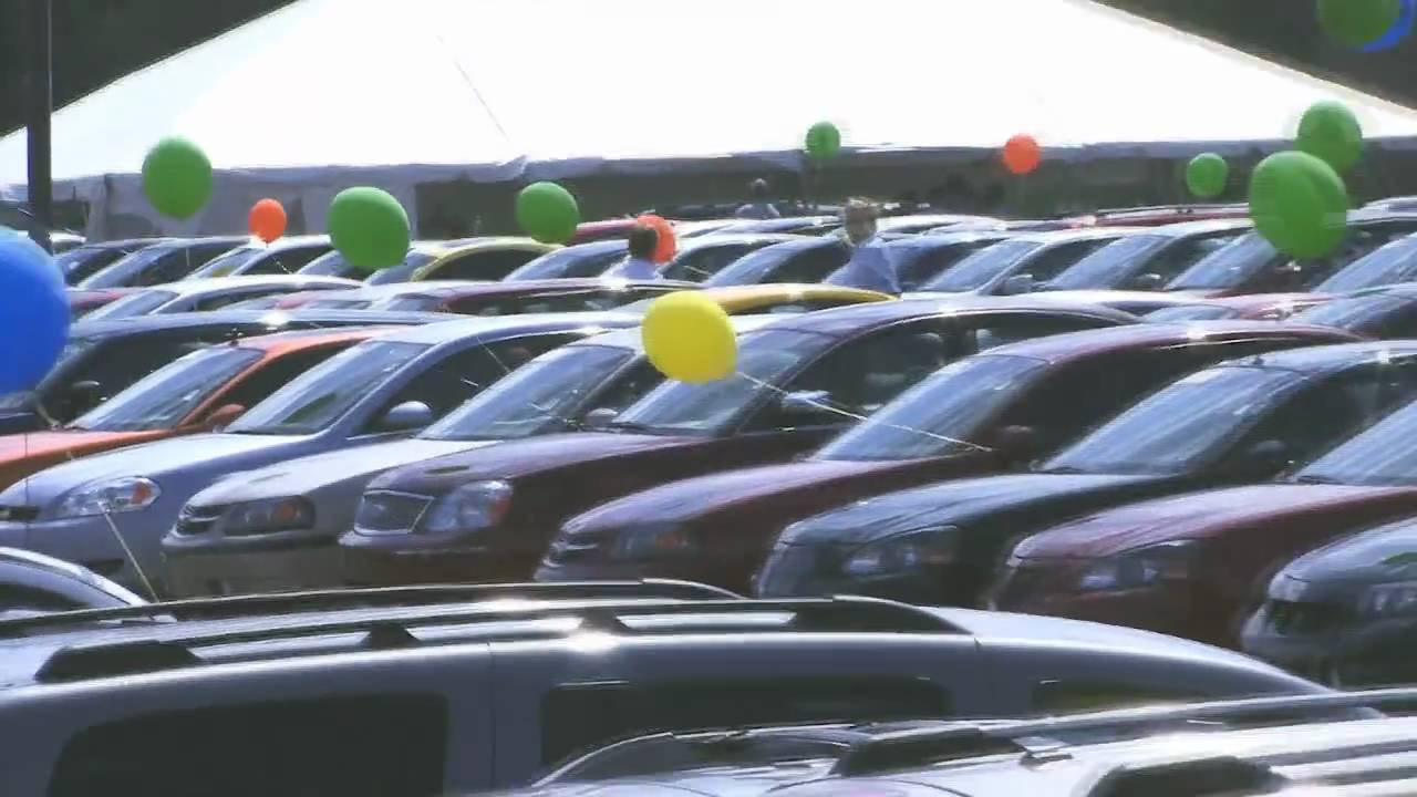 Giant Used Car Tent Sale Youtube