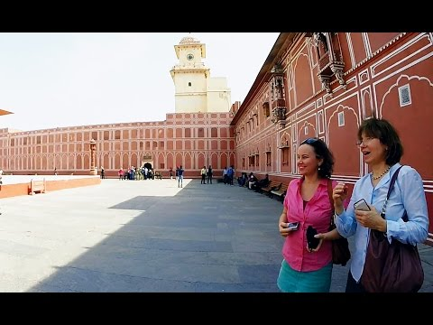 Trip to India. Golden Triangle Visits: Delhi and Jaipur.