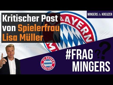 Kritischer Post von Spielerfrau Lisa Müller | #FragMingers