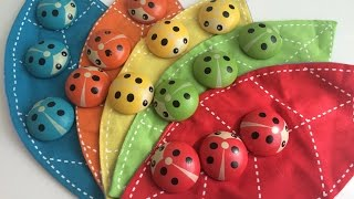 🌸Божьи коровки обучающее видео цвета счет Ladybugs color instructional videos through(Арина с мамой играет в игру божьи коровки, изучает цвета и счет. Arina with mom plays the game ladybugs, exploring color and expense. Спаси..., 2016-03-14T20:13:04.000Z)