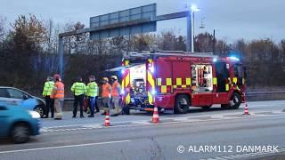 Trafikulykke ved centrumforbindelsen