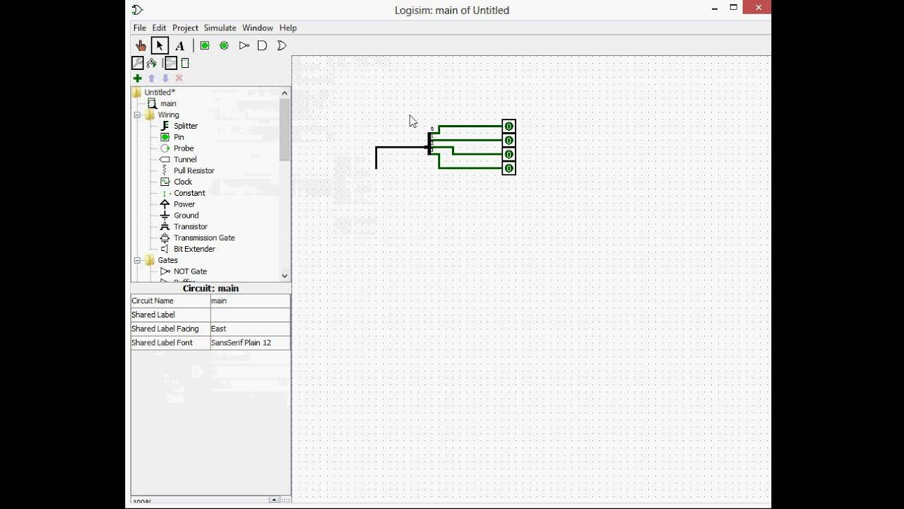 Logisim Tutorial part 2:Timers and Splitters