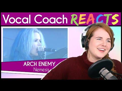 Vocal Coach reacts to Arch Enemy - Nemesis (Alissa White-Gluz Live 2017)