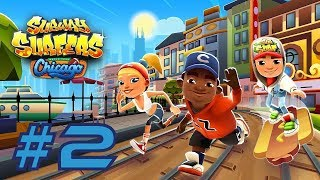 Subway Surfers 2018: Chicago - Samsung Galaxy S8+ Gameplay #2