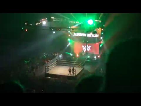 WWE LIVE DUBLIN 2017 - Jordan Devlin  & Tucker ENTRANCES