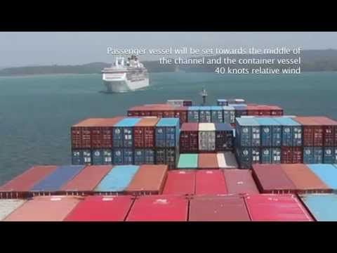 MEETING VESSELS UNDER SEVERE WINDS CONDITIONS (GATUN LAKE) PANAMA CANAL PILOTS