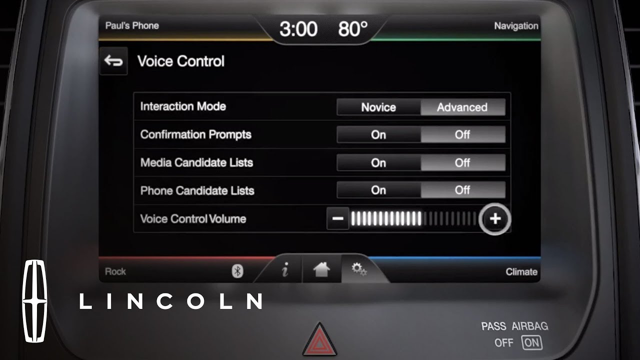 Adjusting Volume Control with Media Devices | Lincoln How-to Video