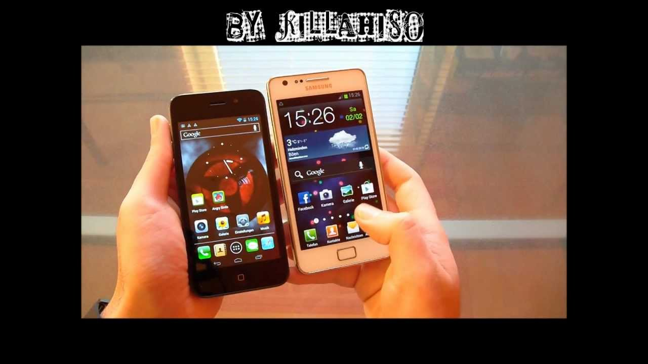 !!NEW!! iPhone 5 CLONE !!NEW!! with Android 4.04 [FULL HD ...