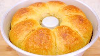 Pão Caseiro Macio e Delicioso