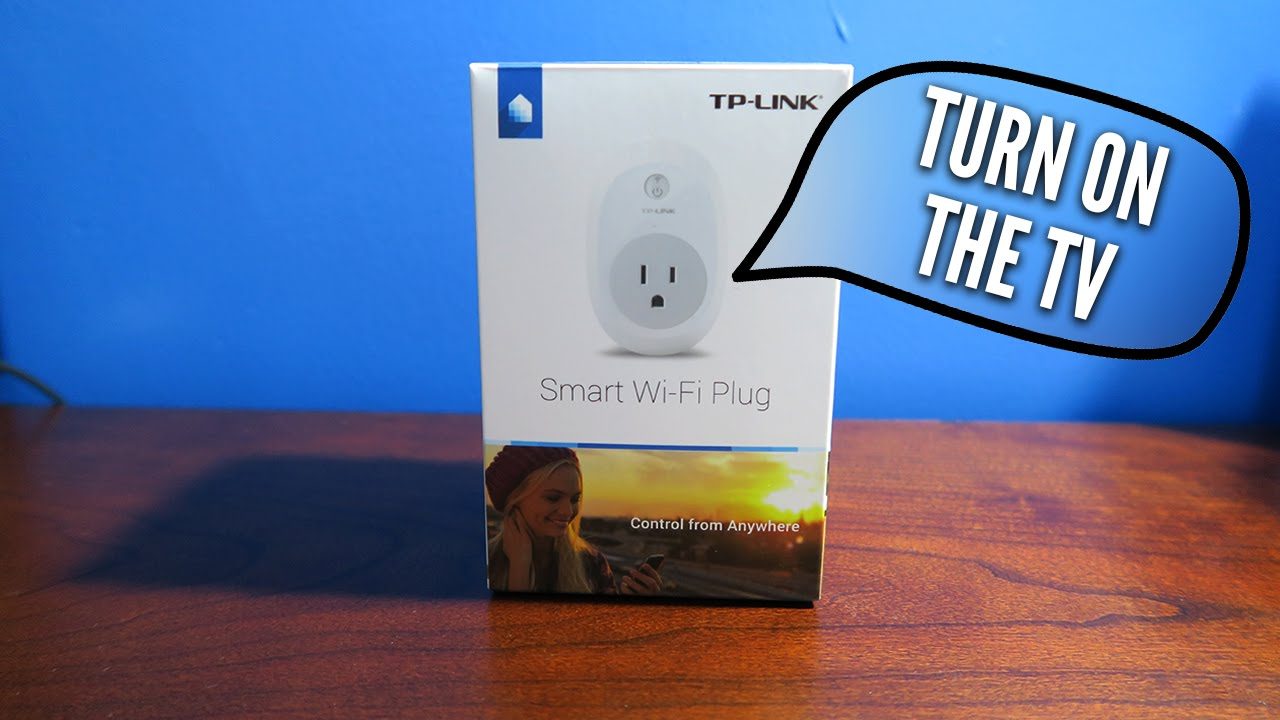 TURNING ON MY TV & LIGHTS WITH MY VOICE! | TP-LINK SMART PLUG  UNBOXING/SETUP (ALEXA COMPATIBLE)