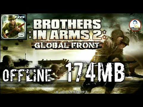 Brothers In Arms 2 Download 174MB Android Offline