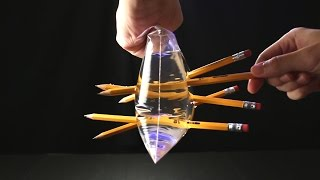 10 Amazing Science Tricks Using Liquid! thumbnail