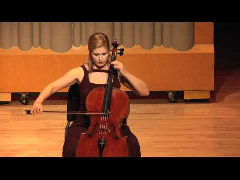 Winona Zelenka - J.S. Bach - Cello Suite No. 2 Sarabande.mov