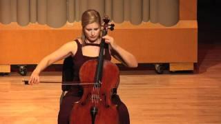 Winona Zelenka - J.S. Bach - Cello Suite No. 2 Sarabande.mov