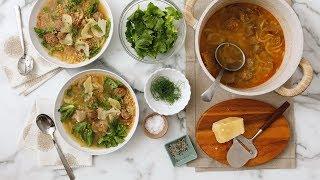 Shortcut Italian Wedding Soup - Martha Stewart