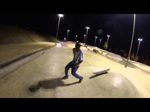 Daily session at Copiapo's Skatepark, South America, Chile.