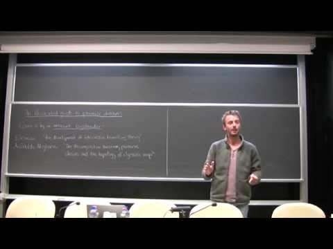 Geordie Williamson, Lecture I - 19 January 2015
