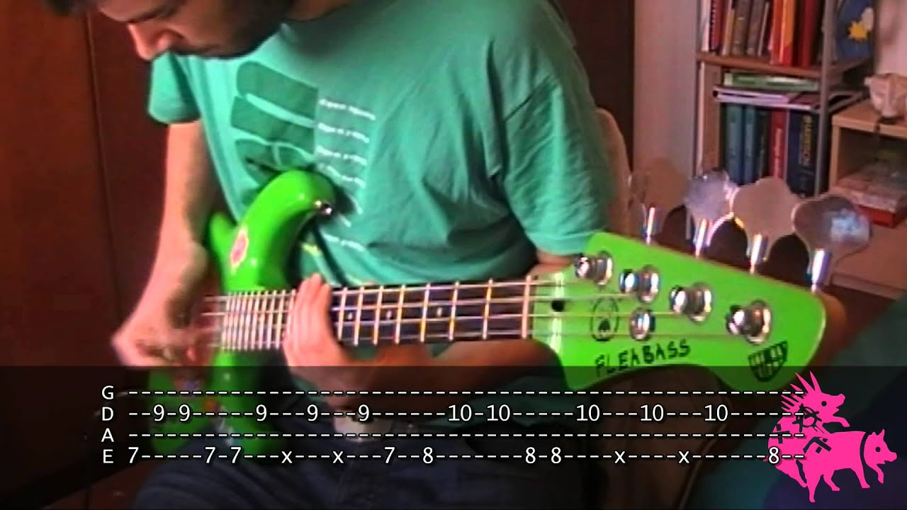 Can39t Stop Bass TAB Red Hot Chili Peppers YouTube