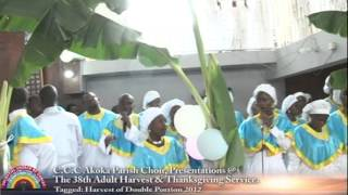 celestial church of christ comforter cathedral akoka parish 1 choir harvest 2012