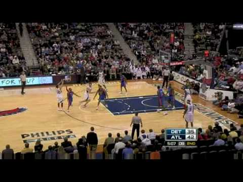 NBA Season 08/09 - Detroit Pistons @ Atlanta Hawks