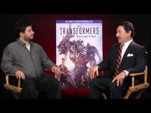 Transformers: Age of Extinction - Nerd Reactor interviews Peter Cullen