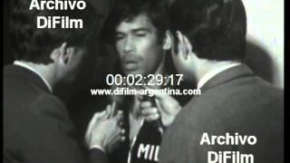 DiFilm - Nota a Nereo Rocco y Nestor Combin - Milan de Italia (1969)