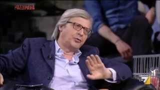 """Vittorio Sgarbi: """"Mi tocca fare il comunista a me che mi fa schifo!"""""""