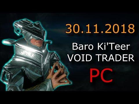 Warframe - Baro Ki'Teer (PC) - Tigris Elixis Skin & Companion Cookie Glyphs (PC) thumbnail