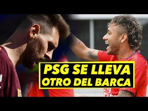 PSG se lleva otro del Barca    Filtrado: Messi habría desviado fondos