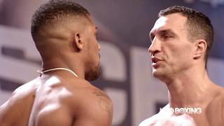 HBO Boxing News: Joshua vs. Klitschko Weigh-In Recap