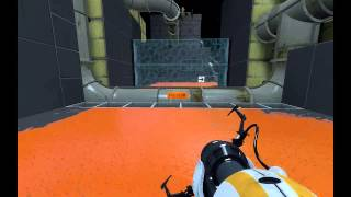 Lets play velocity custom map in Portal 2-Tranzfuzion