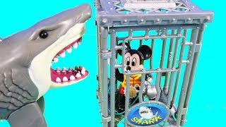 Lego Duplo Mickey Mouse Goes Scuba Diving In Shark Cage + Fun New Roblox Toys